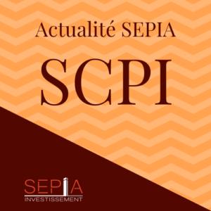 Actualite Sepia SCPI